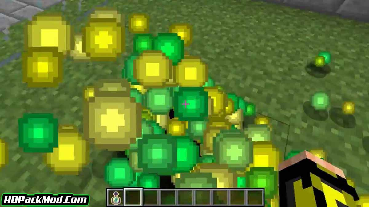 clumps mod 4 - Clumps Mod 1.17.1/1.16.5 (New Experience System)