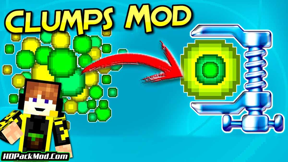 clumps mod - Clumps Mod 1.17.1/1.16.5 (New Experience System)