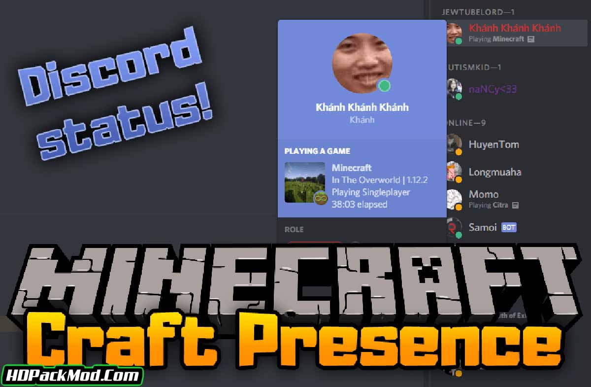 craft presence mod - Craft Presence Mod 1.17.1/1.16.5 (Linking The Game to Discord)