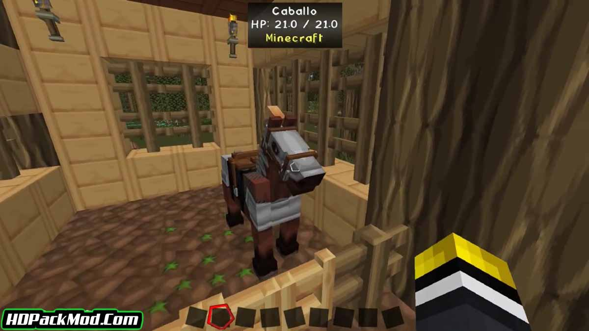 craftable horse armour and saddle mod 2 - Craftable Horse Armour and Saddle Mod 1.17.1/1.16.5 (Armor for Horses)