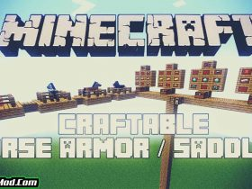 craftable horse armour and saddle mod 280x210 - Craftable Horse Armour and Saddle Mod 1.17.1/1.16.5 (Armor for Horses)