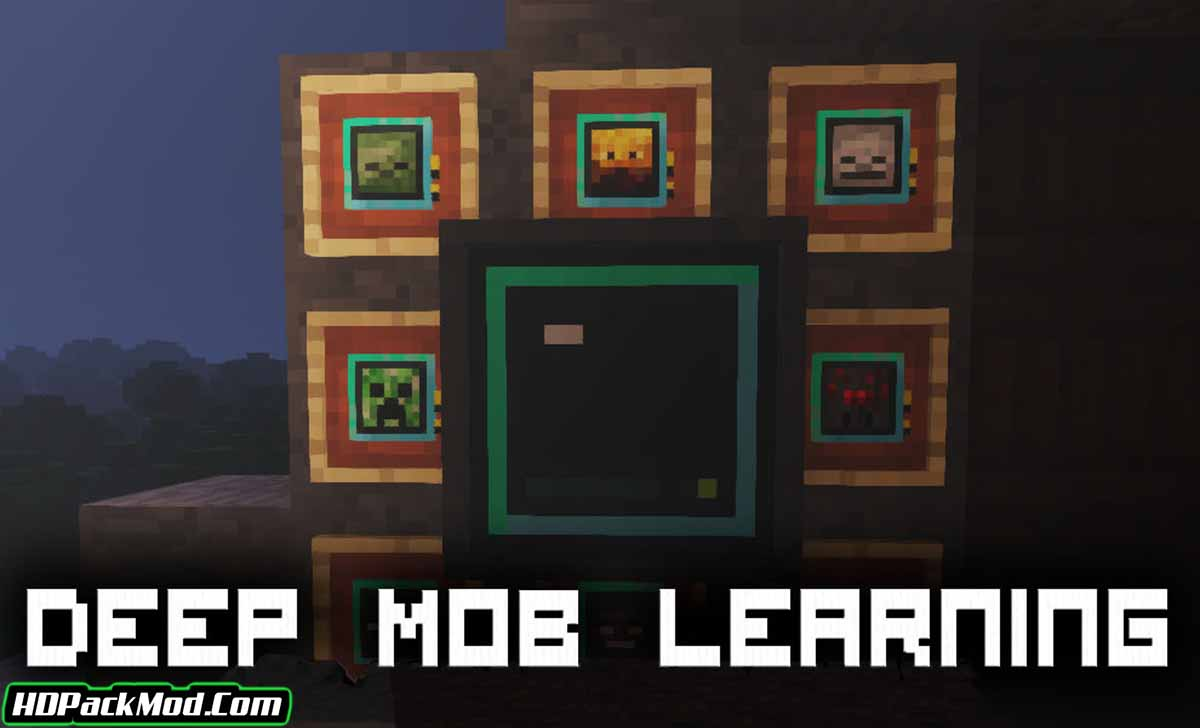 deep mob learning mod - Deep Mob Learning Mod 1.12.2 (Create Spawners From The Loot of Mobs)
