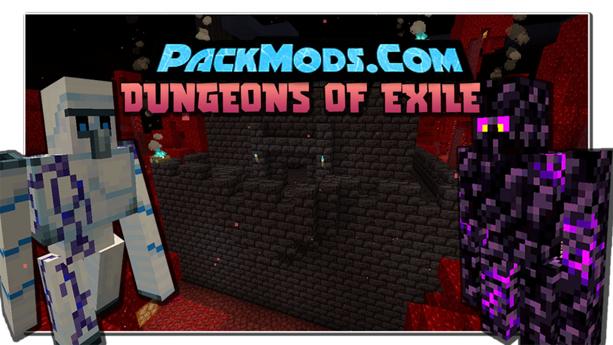 dungeons of exile mod - Dungeons of Exile Mod 1.16.5/1.16.3 (Trial in Towers)