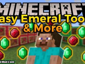easy emerald tools more mod 280x210 - Easy Emerald Tools & More Mod 1.18.1/1.17.1 (Awesome Tools)