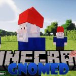 gnomed mod 150x150 - Just Player Heads Mod 1.17.1/1.16.5 (Players' Heads as Drops)