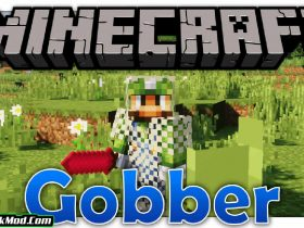 gobber mod 280x210 - Gobber Mod 1.18.1/1.17.1 (Lots of New Items)