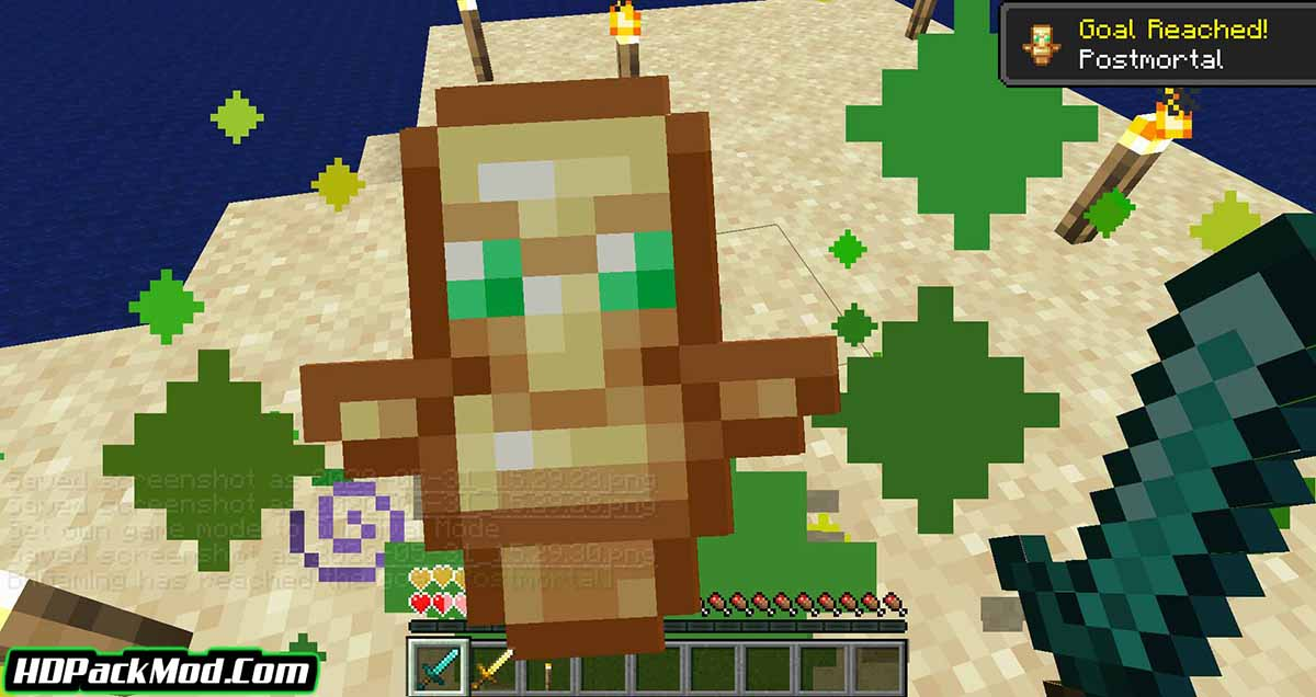 hide hands mod 4 - Hide Hands Mod 1.17.1/1.16.5 (Hiding and Displaying The Second Hand)
