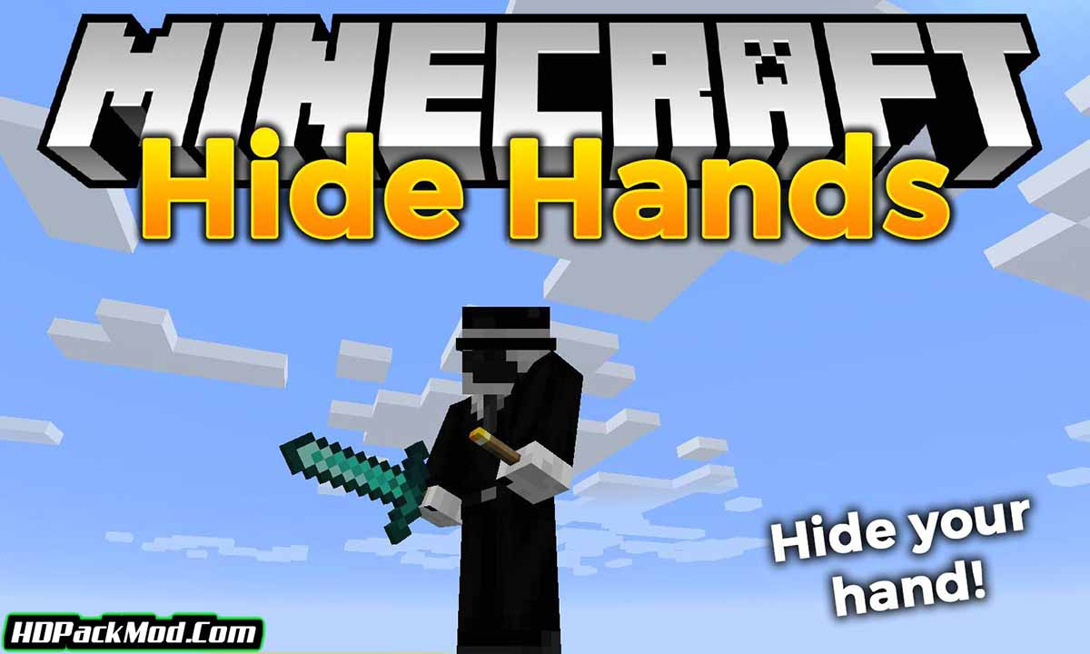 hide hands mod - Hide Hands Mod 1.17.1/1.16.5 (Hiding and Displaying The Second Hand)