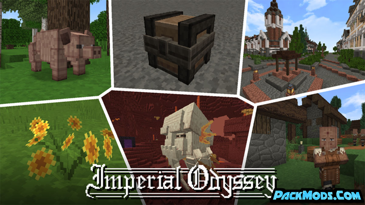 imperial odyssey resource pack - Imperial Odyssey 1.16.5/1.15.2 Resource Pack (32x)