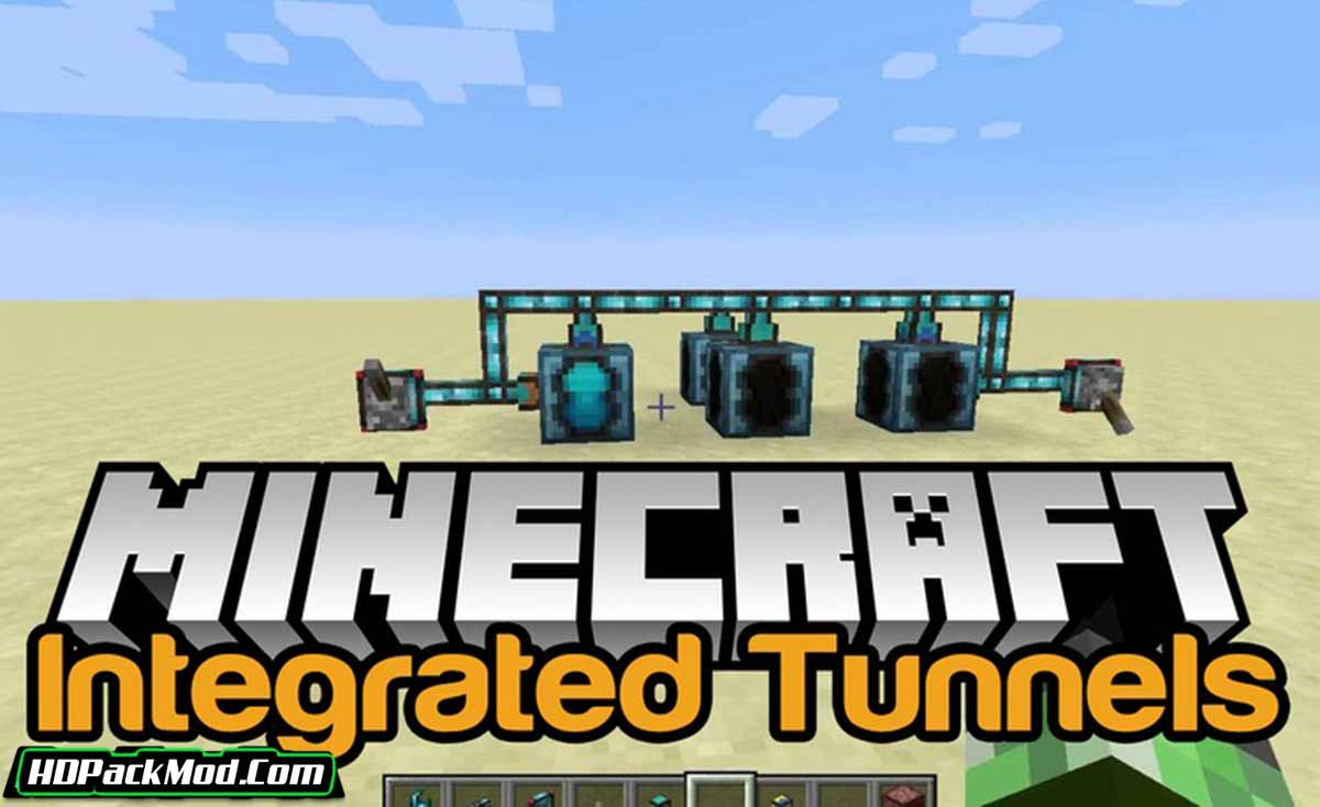integrated tunnels mod - Integrated Tunnels Mod 1.16.5/1.15.2 (Transporting Objects)