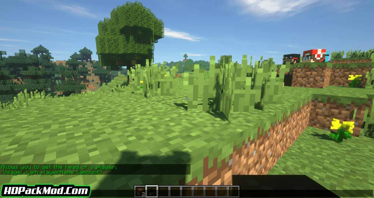 just player heads mod 4 - Just Player Heads Mod 1.17.1/1.16.5 (Players' Heads as Drops)