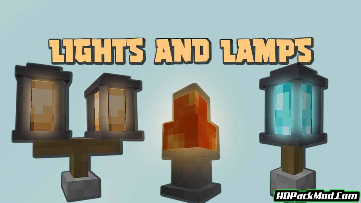 macaws lights and lamps mod - Macaw's Lights and Lamps Mod 1.16.5
