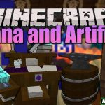 mana and artifice mod 150x150 - Blue Power Mod 1.16.5/1.15.2 (Manipulations with Redstone)