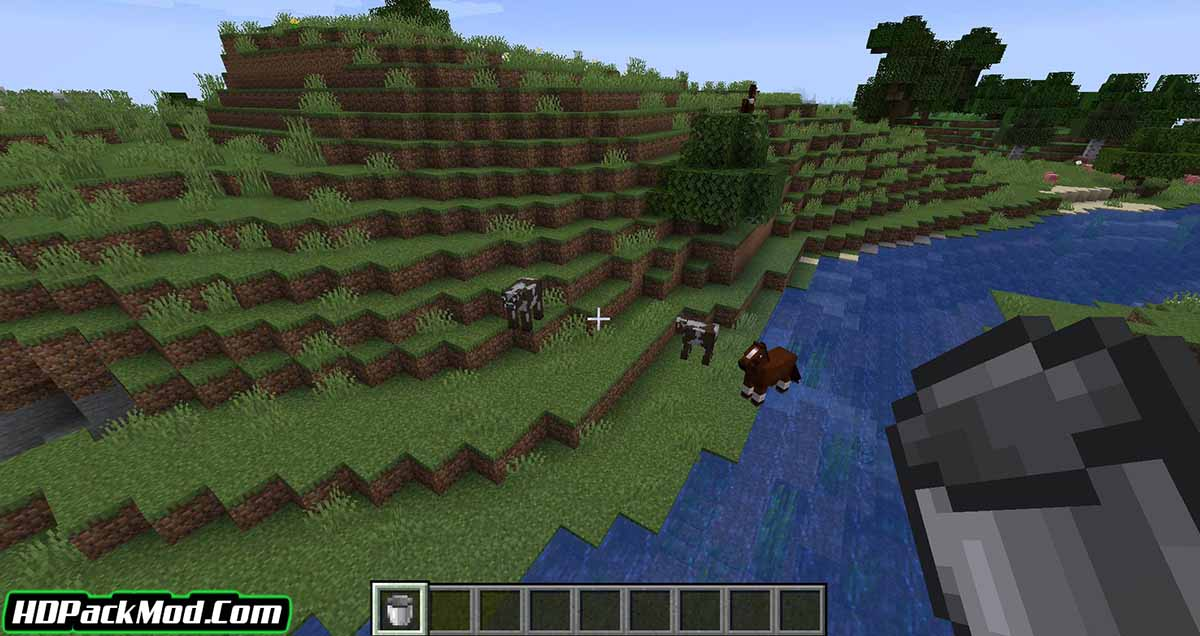 milk all the mobs mod 2 - Milk All The Mobs Mod 1.17.1/1.16.5 (Milk is Not Just for Cows)