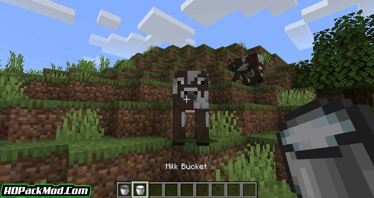 milk all the mobs mod 3 - Milk All The Mobs Mod 1.17.1/1.16.5 (Milk is Not Just for Cows)