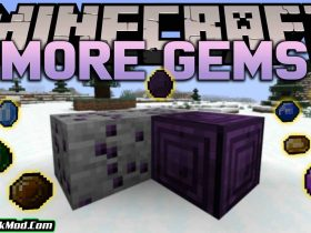 more gems mod 280x210 - More Gems Mod 1.18.1/1.17.1 (New Ores and Items)