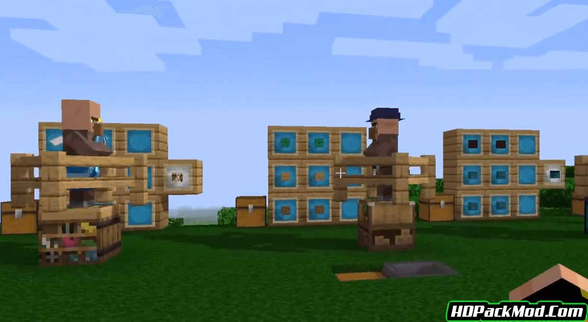 more villagers mod 2 - More Villagers Mod 1.17.1/1.16.5 (Professions of The Villagers)
