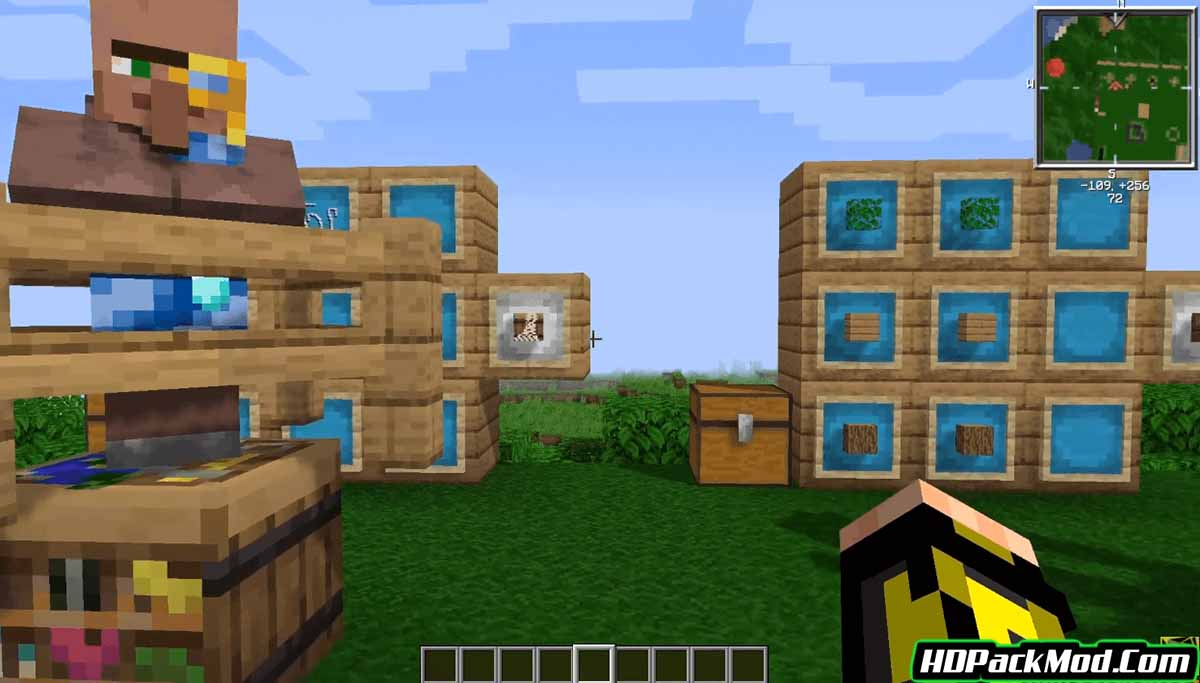 more villagers mod 3 - More Villagers Mod 1.17.1/1.16.5 (Professions of The Villagers)