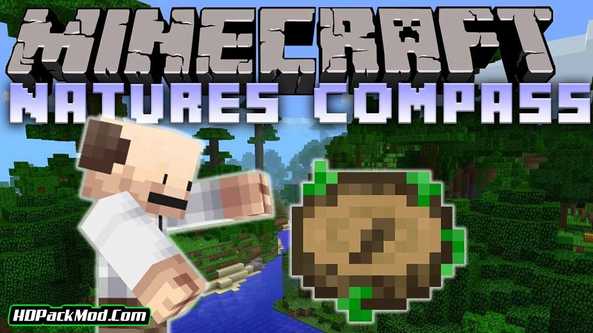 natures compass mod - Nature's Compass Mod 1.17.1/1.16.5 (Biome Search)