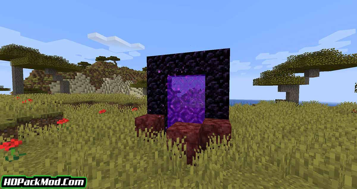 nether portal spread mod 2 - Nether Portal Spread Mod 1.17.1/1.16.5 (Living Portal to Hell)