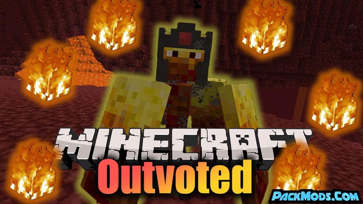 outvoted mod - Outvoted Mod 1.17.1/1.16.5 (Broken Mobs)