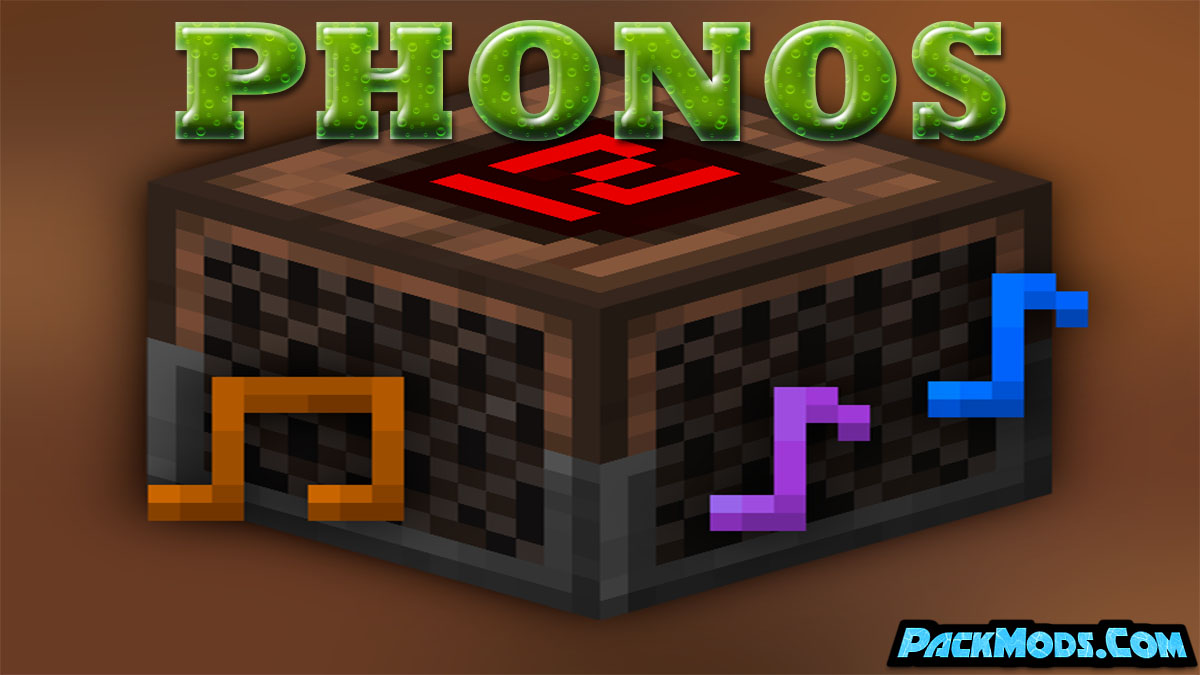 phonos mod - Phonos Mod 1.17.1/1.16.4 (Audio System and JukeBoxes)