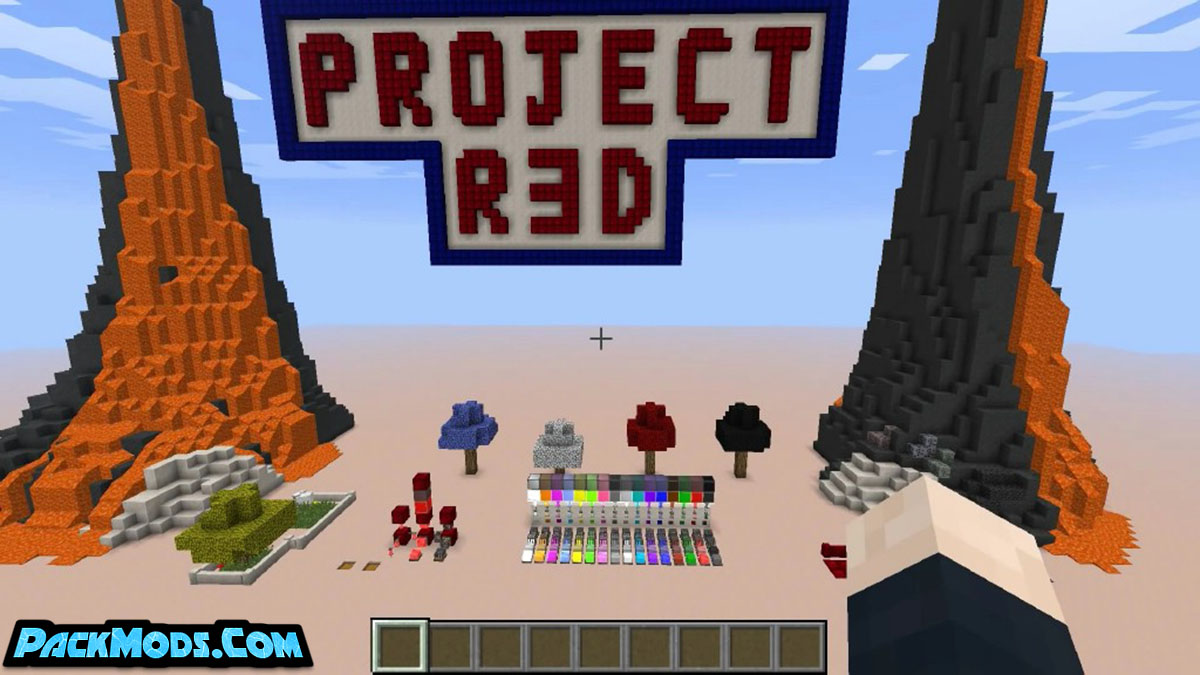 project red mod 2 - Project Red Mod 1.16.5/1.15.2 (RedPower 2 Replacement)
