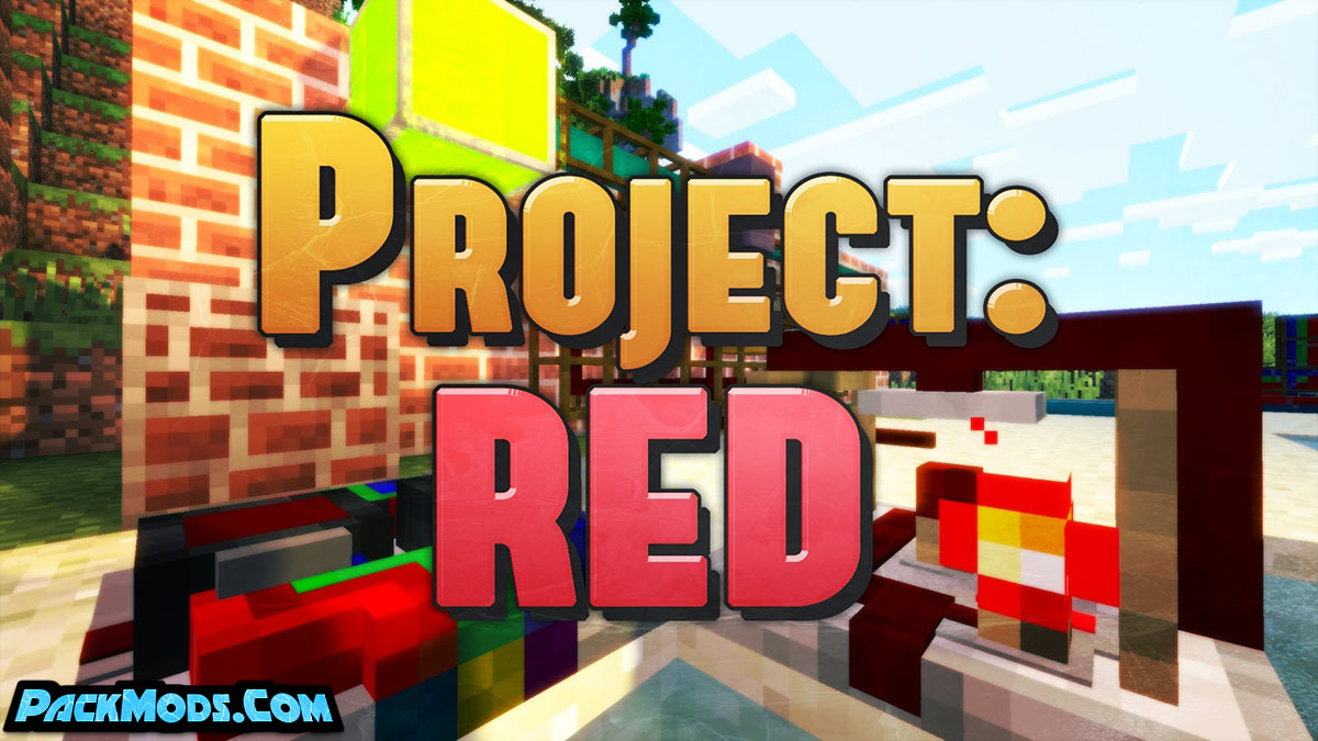project red mod - Project Red Mod 1.16.5/1.15.2 (RedPower 2 Replacement)