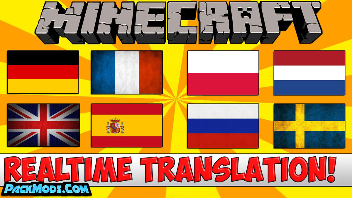 real time chat translation mod - Real Time Chat Translation Mod 1.16.5/1.15.2 (Chat Translator)
