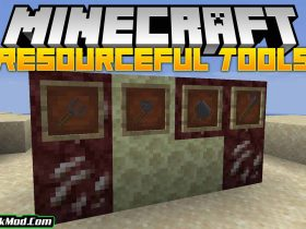 resourceful tools mod 280x210 - Resourceful Tools Mod 1.18.1/1.17.1 (New and Simple Tools)
