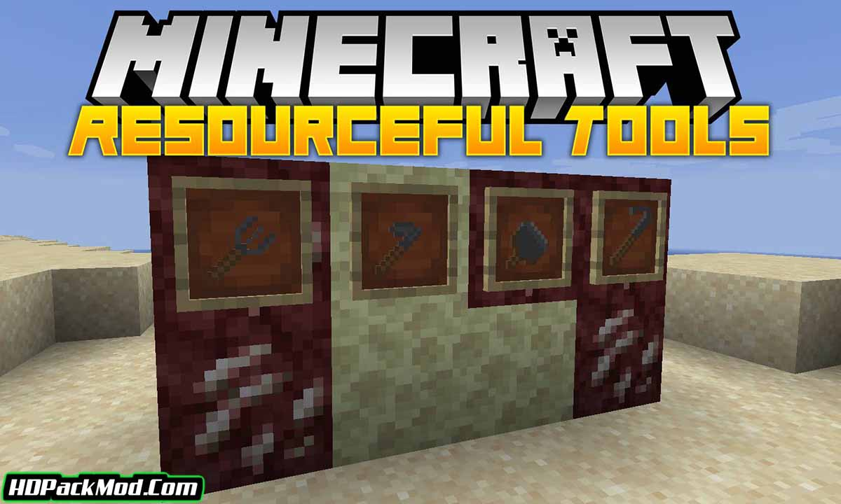 resourceful tools mod - Resourceful Tools Mod 1.18.1/1.17.1 (New and Simple Tools)