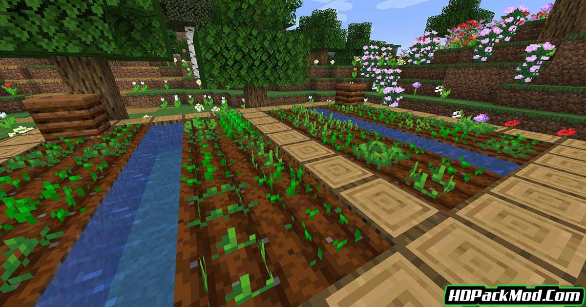 ring of growth mod 3 - Ring of Growth Mod 1.17.1/1.16.5 (Growth Ring for Plants)