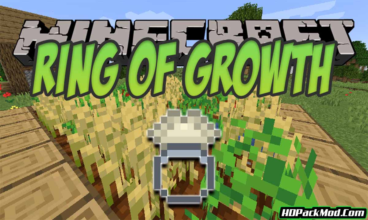 ring of growth mod - Ring of Growth Mod 1.17.1/1.16.5 (Growth Ring for Plants)