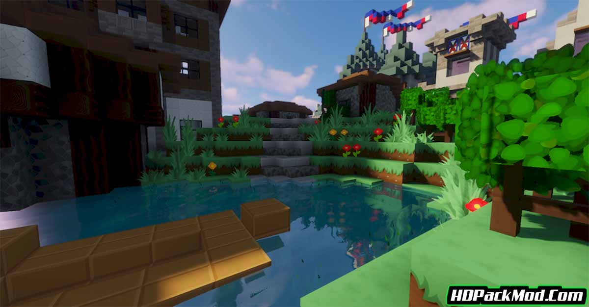simonkraft resource pack 2 - SimonKraft 1.17.1/1.16.5 Resource Pack (Textures With A Bright Color Palette)
