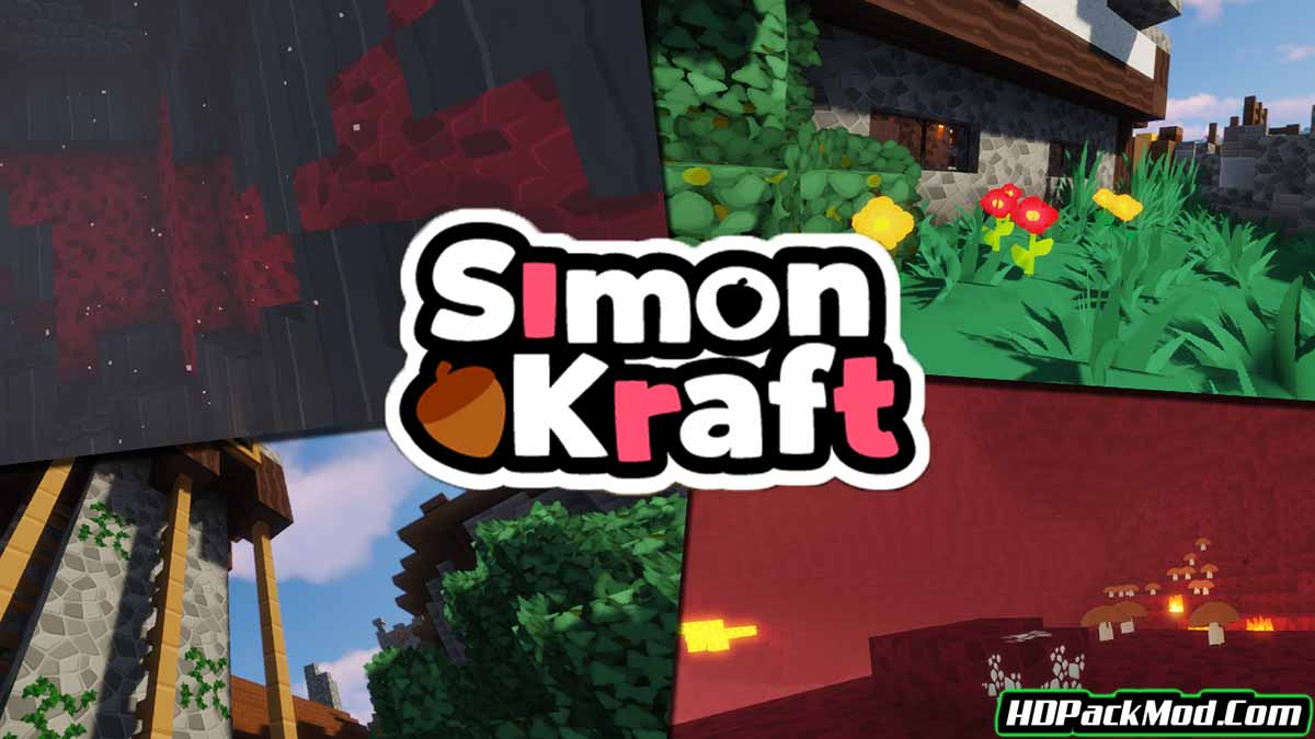 simonkraft resource pack - SimonKraft 1.17.1/1.16.5 Resource Pack (Textures With A Bright Color Palette)