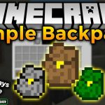 simple backpack mod 150x150 - 88Craft 1.15.2 Resource Pack 1.14.4 (Cartoon Textures 8x)