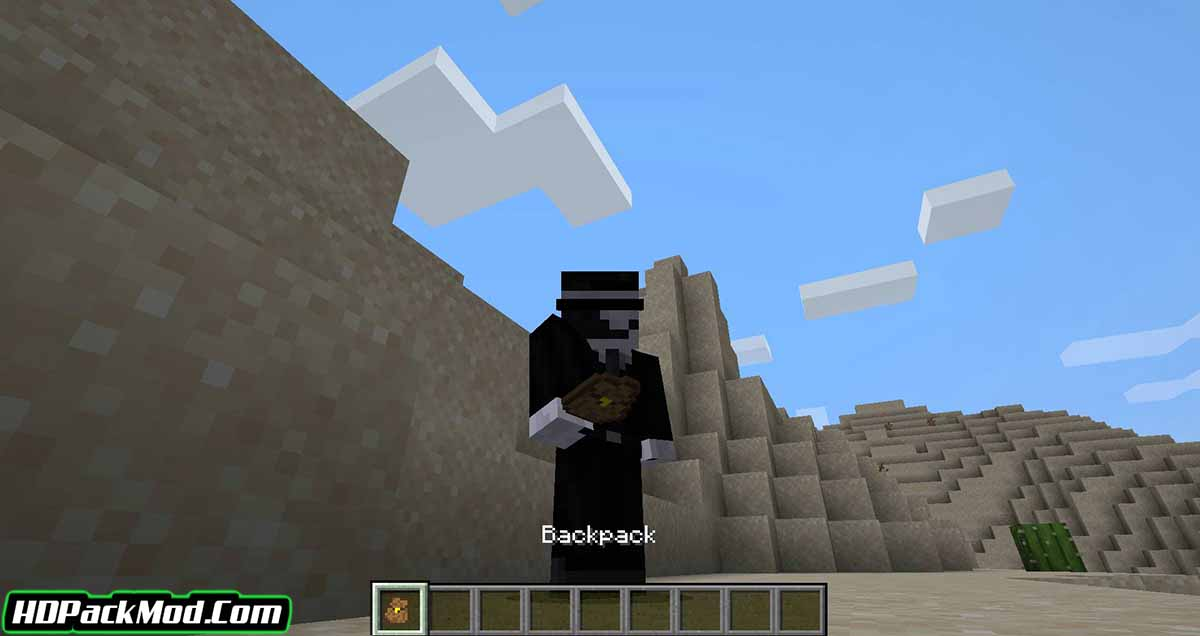 simple backpack mod 2 - Simple Backpack Mod 1.17.1/1.16.5 (Storing Items in a Backpack)