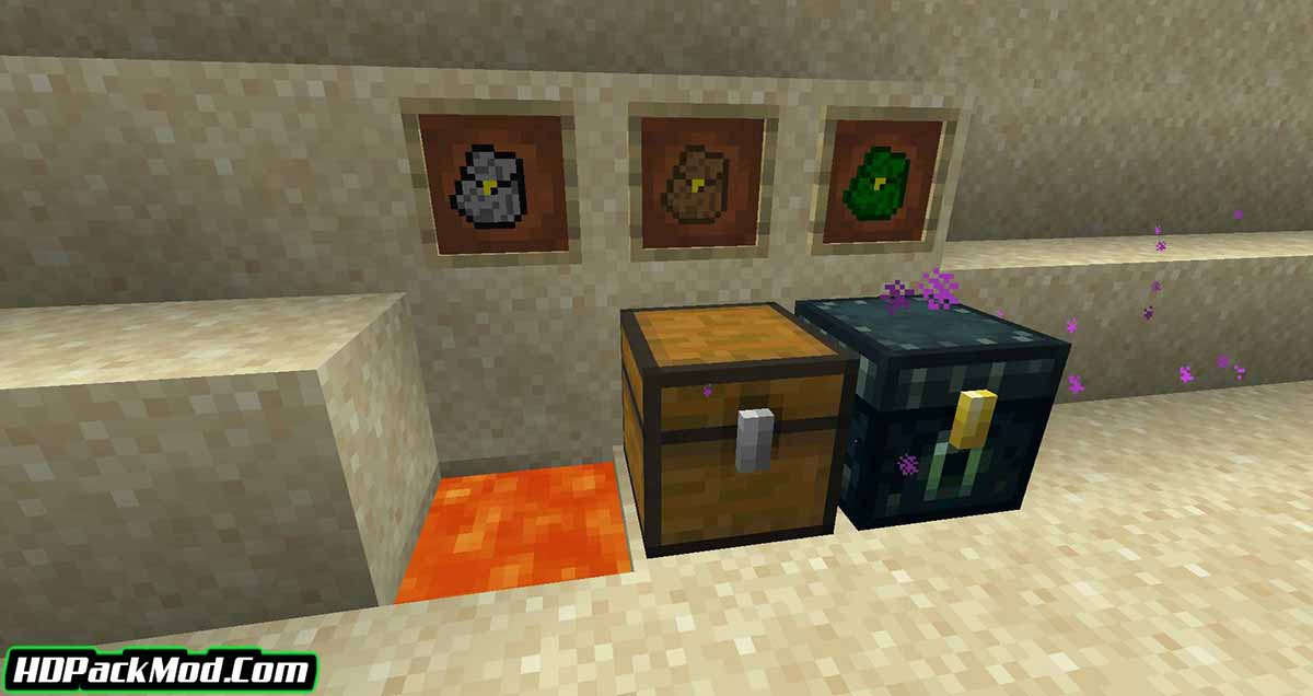 simple backpack mod 4 - Simple Backpack Mod 1.17.1/1.16.5 (Storing Items in a Backpack)