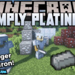 simply platinum mod 150x150 - Charm Mod 1.17.1/1.16.5 (New Features and Decorations)