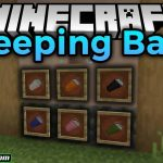 sleeping bags mod 150x150 - Easy Steel & More Mod 1.17.1/1.16.5 (New Ore, Tools and Other)