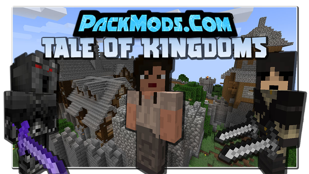 tale of kingdoms a new conquest mod - Tale of Kingdoms: A New Conquest Mod 1.17.1/1.16.5 (Kingdom, Quests)