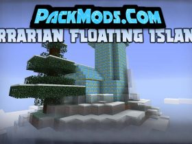 terrarian floating islands mod 280x210 - Terrarian Floating Islands Mod 1.16.5 (Structures in The Sky)