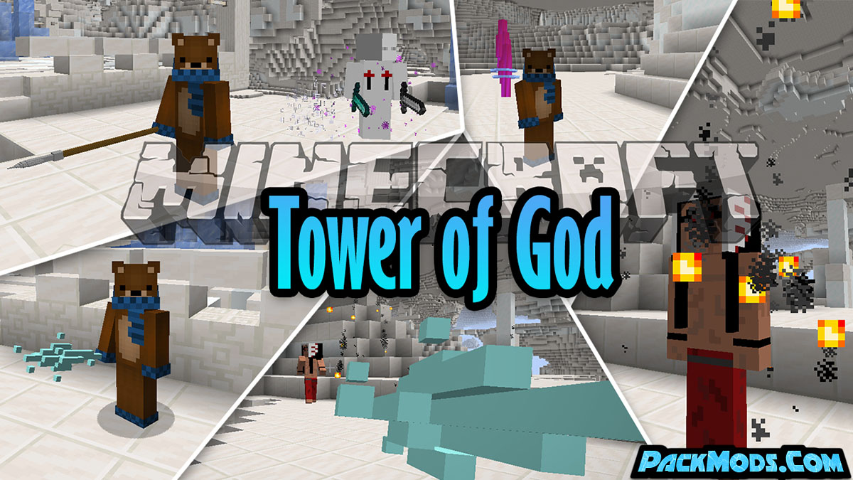 tower of god mod - Tower of God Mod 1.16.5/1.14.4 (Bosses + Weapons)