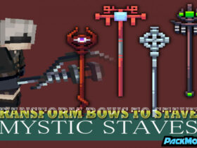 transform bows to staves resource pack 280x210 - Transform Bows to Staves 1.14.4/1.13.2 Resource Pack (64x)
