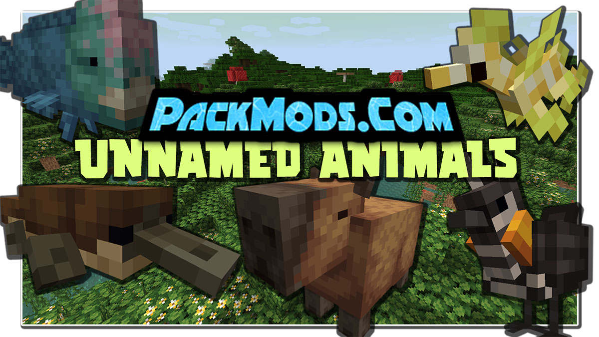 unnamed animals mod - Unnamed Animals Mod 1.16.5 (New Biomes)