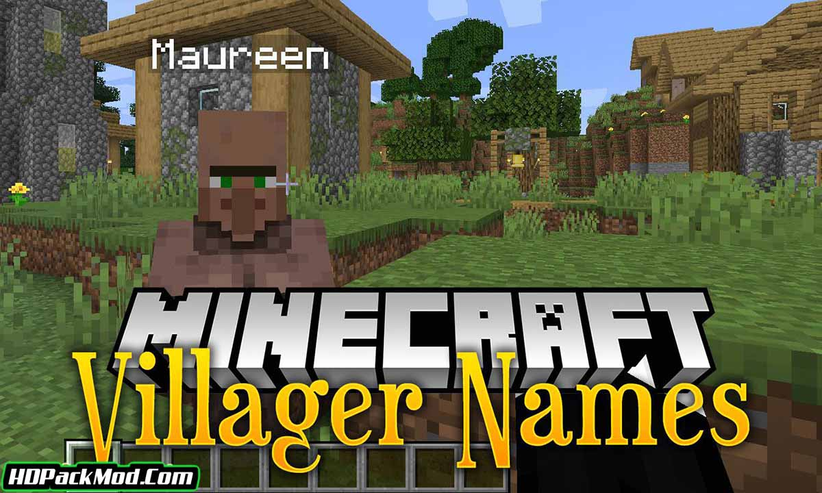 villager names mod - Villager Names Mod 1.17.1/1.16.5 (Add Names to The Villagers)