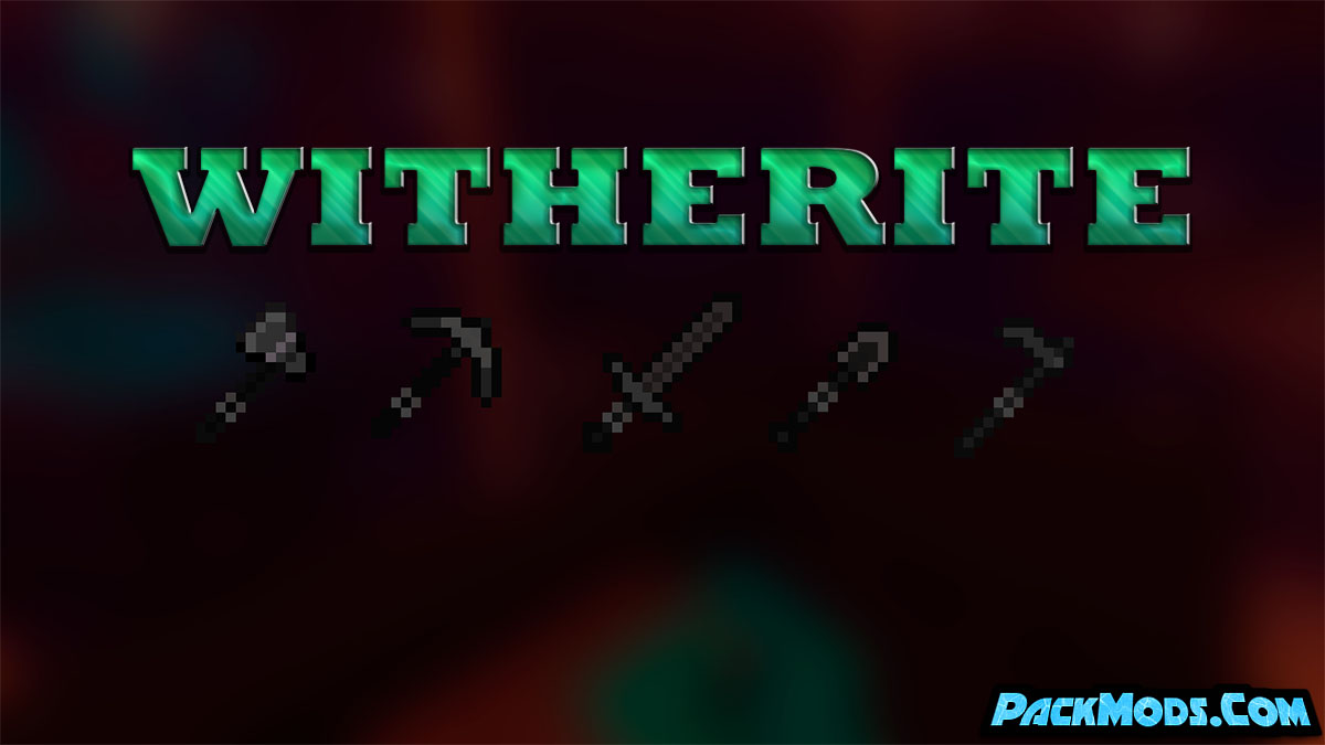 witherite mod - Witherite Mod 1.17.1/1.16.5 (New Ore - Viserite)