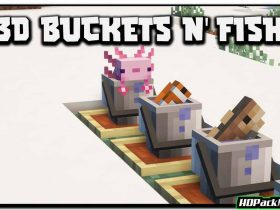 findreks 3d buckets and fish resource pack 280x210 - Findrek's 3D Buckets and Fish 1.17.1 Resource Pack 1.16.5 (16x)