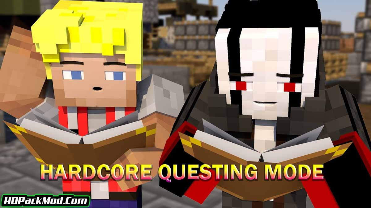hardcore questing mode mod - Hardcore Questing Mode Mod 1.17.1/1.16.5 (Quests for Minecraft)