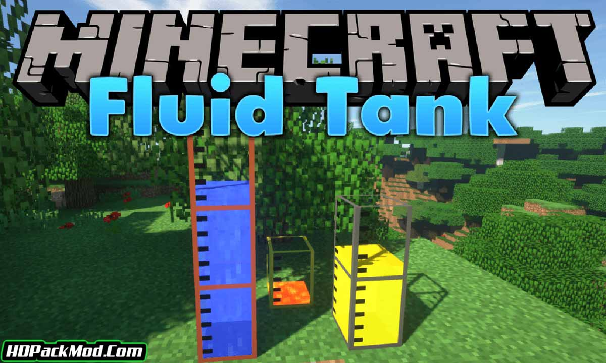 large fluid tank mod - Large Fluid Tank Mod 1.17.1/1.16.5 (Storage Containers)